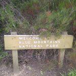 Welcome to Blue Mountains NP sign (10037)