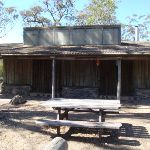 Homestead style building at Field Study Huts (103720)