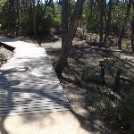 Board walked track to car park (104977)