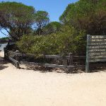 Signposted intersection for lookout and beach (106255)