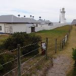 Track along Green Cape Lighthouse buildings (107578)