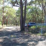 Coming to the carpark off Warrimoo Road (116344)