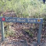 Currie Road Track sign (127297)
