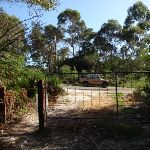 Gate on Curry rd track (127450)