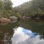 Blue Pool reflections (148260)
