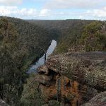 View up the Nepean River from lookout (150453)
