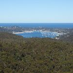 Views of Pittwater from the end of the Willunga track (156487)