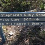 Signposted in of OGNR and Shephard's Rd (162850)