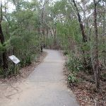 Bungoona Path and information sign (170913)