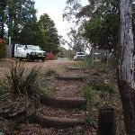 Steps up to the end of Gladstone Rd (186438)