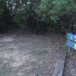 Narrow track at the lower end of Gordon falls Park (187206)