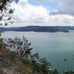 Great view from Tumblecowii over the Hawkesbury River (205921)