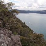 Looking along Tumblecowii  Little Wobby and the Hawkesbury River (205987)