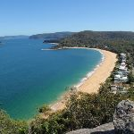 Looking over Pearl Beach (221156)