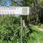 Water Catchment sign (223523)