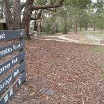 Sign posts near toilets St Johns Lookout picnic area (225424)