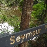 Sign at Seymour Pond (226597)