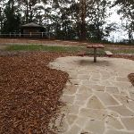 Path leading to picnic table (227902)