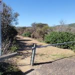 Gate at the end of Snapper Point Rd (247519)