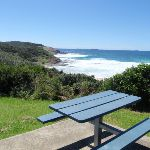 Table with a view over snapper point (247954)