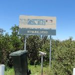 Sign at the end of Wybung Head Rd (249115)