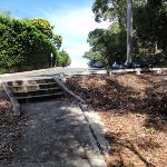 Steps at the southern end of Nielsen Park (254909)