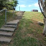 Steps on the southern side of Green (Laings) Point (256181)