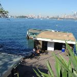 Looking down on Cremorne Wharf (259142)