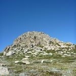 Rocky hill south-west of Seamans Hut (265916)