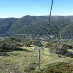 Looking down to Thredbo from the chairlift (271175)