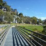 Crossing over the Thredbo River (273353)