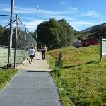 Passing the tennis courts (273716)