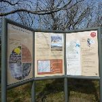 Information sign at Round Mountain Trail Head (289106)
