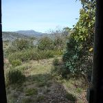 Best view from a loo at Round Mountain Hut (289834)