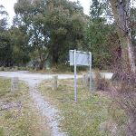 Intersection at the lower end of Thredbo Diggings (296369)