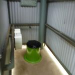 Inside the toilets at Thredbo Diggings Camping area (296408)