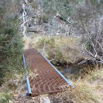 Crossing Sawpit Creek on the Pallaibo Track (303694)