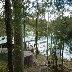 House and boat piers near Elvina Track (304664)