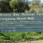 Sign to Congwong Beach near La Perouse (308543)