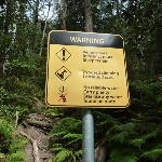 Remote area warning sign (312545)