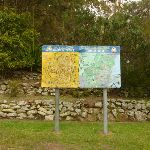 Information sign and map of Mt Sugarloaf near Newcastle (324047)