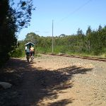 The servicetrail beside the tramway line (32420)