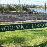 Woolwich Lookout sign (342403)