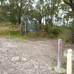 Signposted near swtiching box North of Cowan Station (348283)