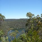 Berowra Creek view from west of Currawong Road track (353150)