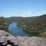 View over Berowra Waters from the top of the ridge (354548)