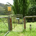 GNW gate and  electric fence box south of Watagan Creek crossing (363482)