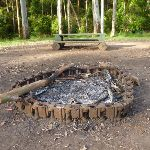 Fire scar at the Basin campsite (364994)