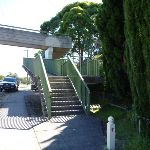 Bridge over Pacific Hwy near Glenview Rd (377945)