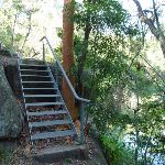 Stairs on the river side track (384110)